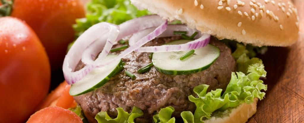 Delicious Halal Beef Burgers