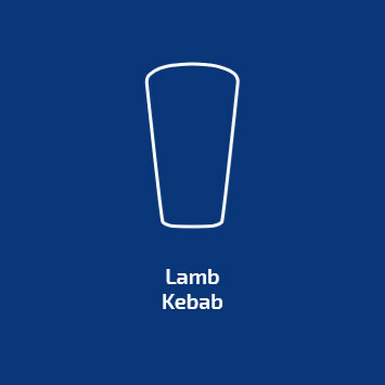 Blue Label lamb Kebab