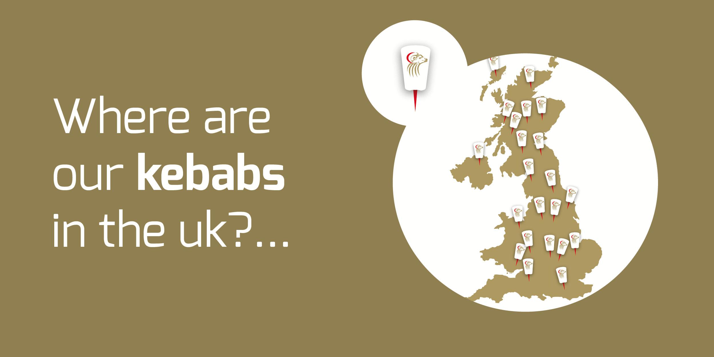 How far do our kebabs go?…